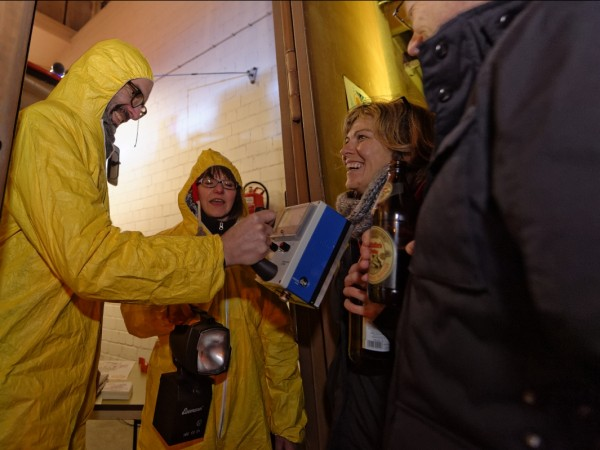 Begrüßung zum KURZFILMTAG beim Katastrophenschutz Bamberg